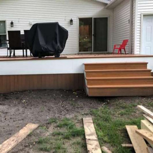 decking installation Fort Dodge, IA